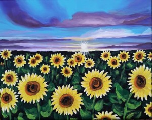 Sunflower Field Happy Hour Event / SOLD OUT