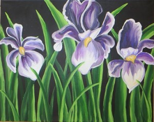Irises Lunch n' Paint / SOLD OUT
