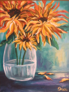 Sunflower Vase Happy Hour Event / SOLD OUT
