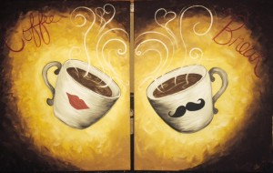 Coffee Cups Date Night / SOLD OUT