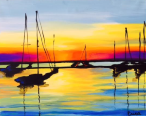 Boats at Sunset Event